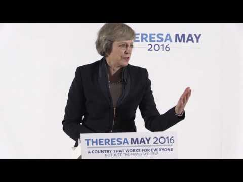 Conservative leadership: Theresa May launches her campaign in Birmingham