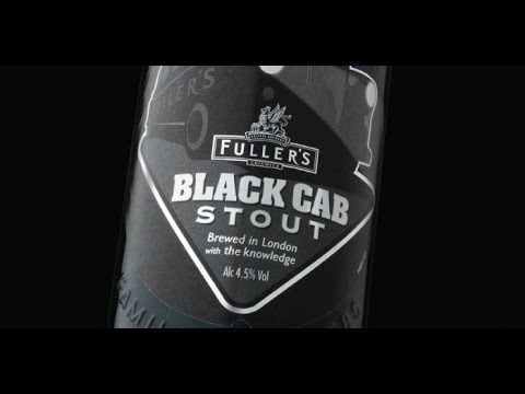 Fuller Smith & Turner PLC. (Griffin Brewery) - Black Cab Stout 4.5% (With Kevin Black)