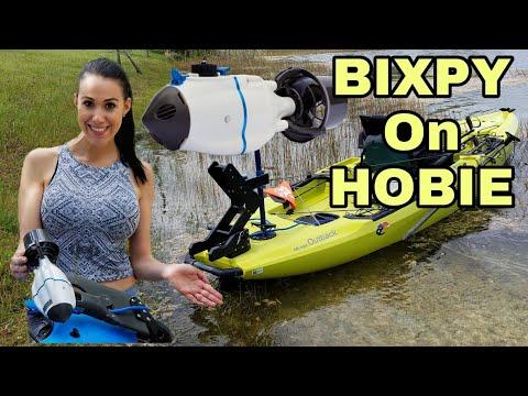 Bixpy JET KAYAK Motor For HOBIE PEDAL Kayaks Pro Angler 14, Compass, 2019 Outback, Revo 11