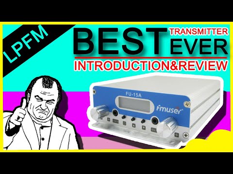 15W Low Power FM Transmitter For FM Radio Station|Introduction&Review