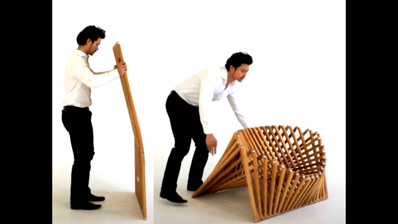 Rising Furniture By Robert Van Embricqs YouTube