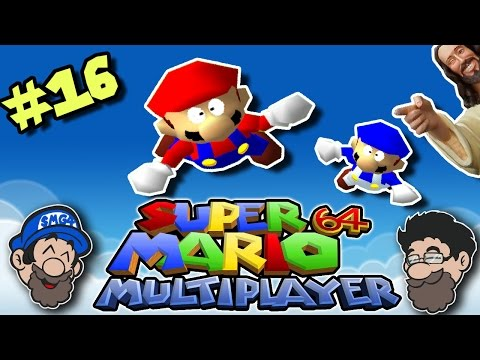 THANKS JESUS! || Super Mario 64 Multiplayer || PART 16