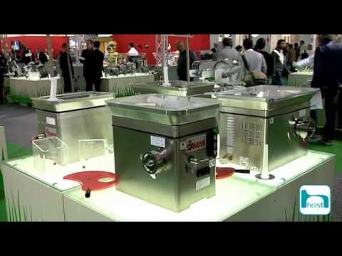 Host 2011 milano stand sirman youtube for Cucine per cucinare