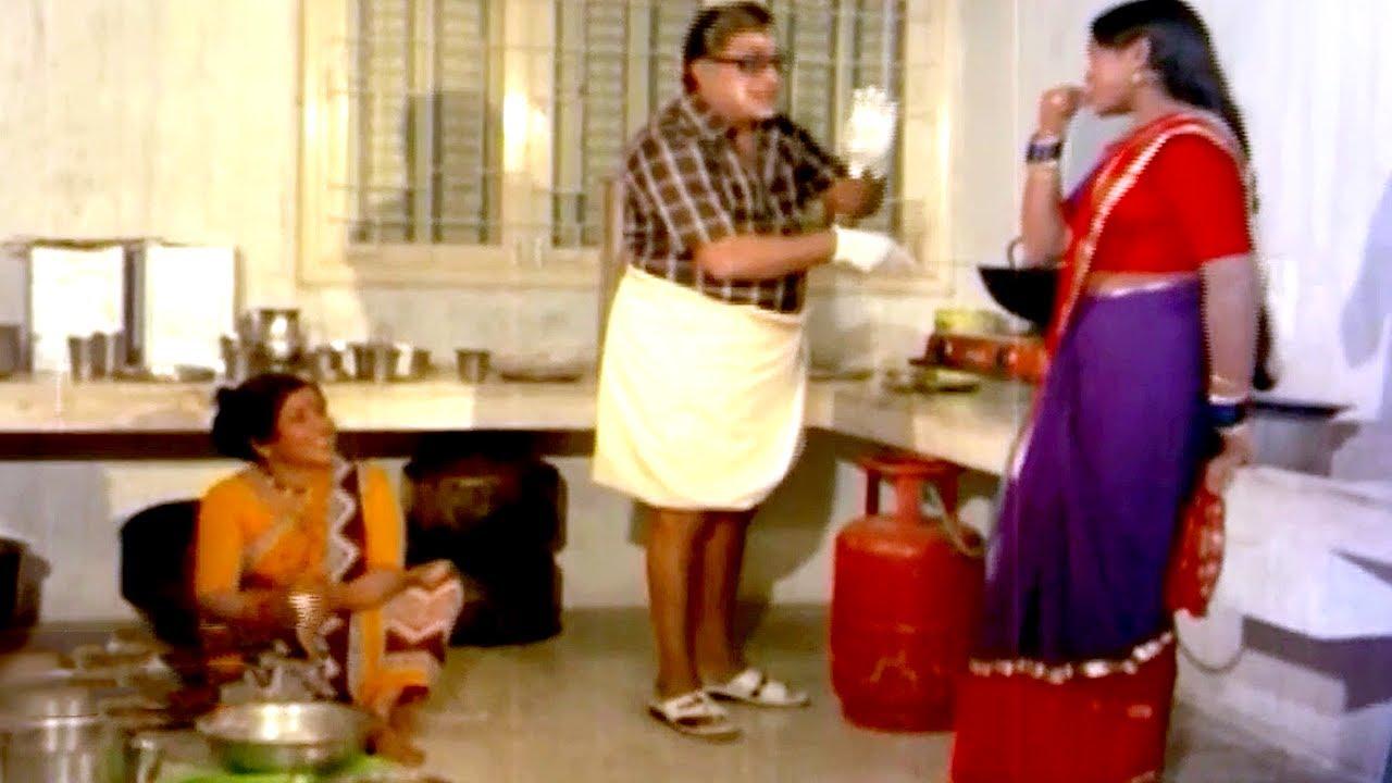 மாமனாருக்கும் மருமகளுக்கும் நாக்கு நாலு முழம் | Tamil Comedy Scene | Tamil Best Comedy Scene