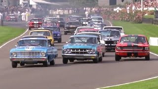 Goodwood Revival 2014 Race Highlights | Shelby Cup