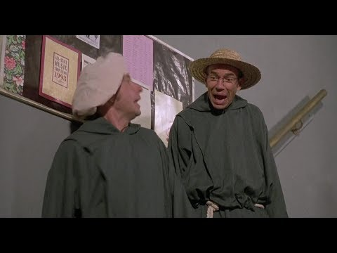 Sister Act 2   Best Reaction Shot last priest on stairs