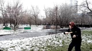 видео Диск-гольф в Москве