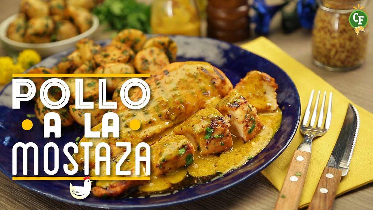 C mo preparar pollo a la mostaza cocina fresca youtube for Maneras de cocinar pollo