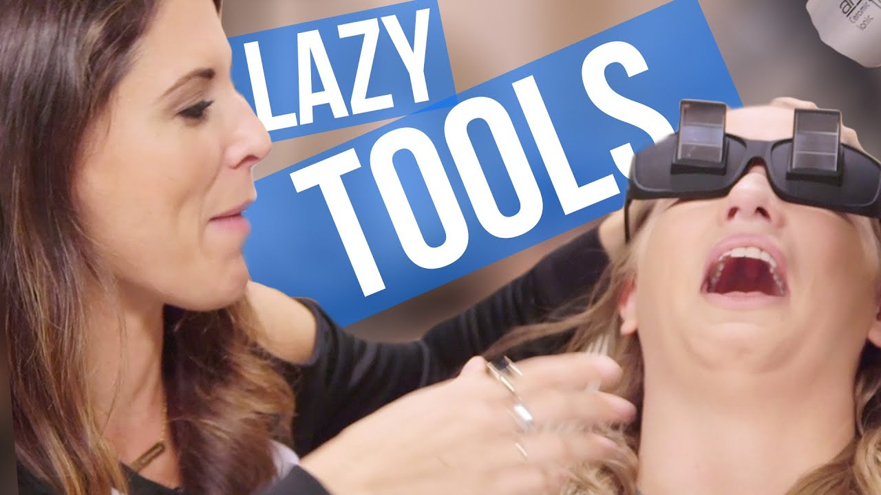 Weird Tools For Lazy People Beauty Break