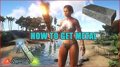 How To Get A LOT Of Metal In Ark: Survival Evolved