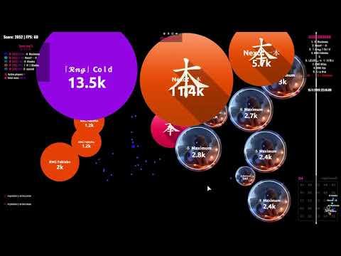 Agar.io   CLAN WAR   「本」 VS RENEGADES   6 VS 6   thumbnail