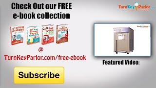 Commercial Frozen Yogurt Machi…