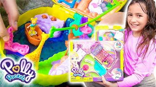 Sunny Adventures with the NEW Polly Pocket!