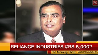 Week ahead for Indian markets: Reliance Industries @Rs 5,000?