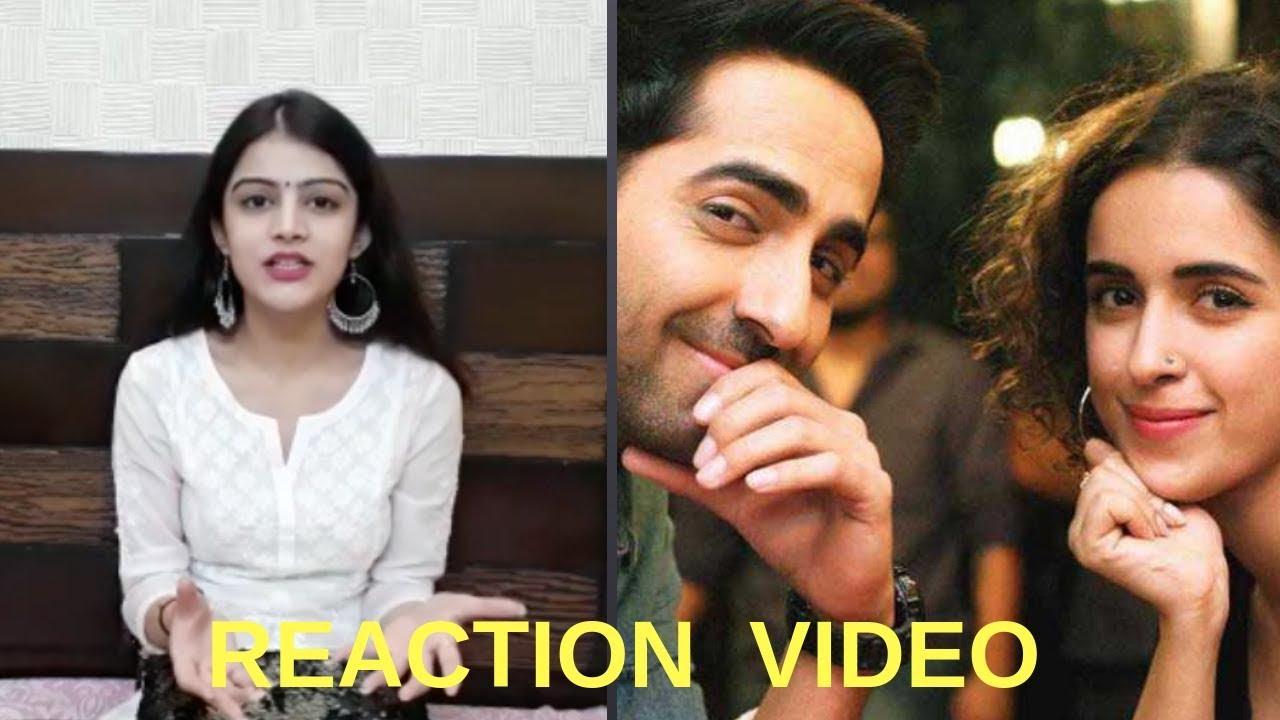 Download 'Badhaai Ho' official trailer l Trailer reaction video l Ayushmann Khurrana l Sanya Malhotra