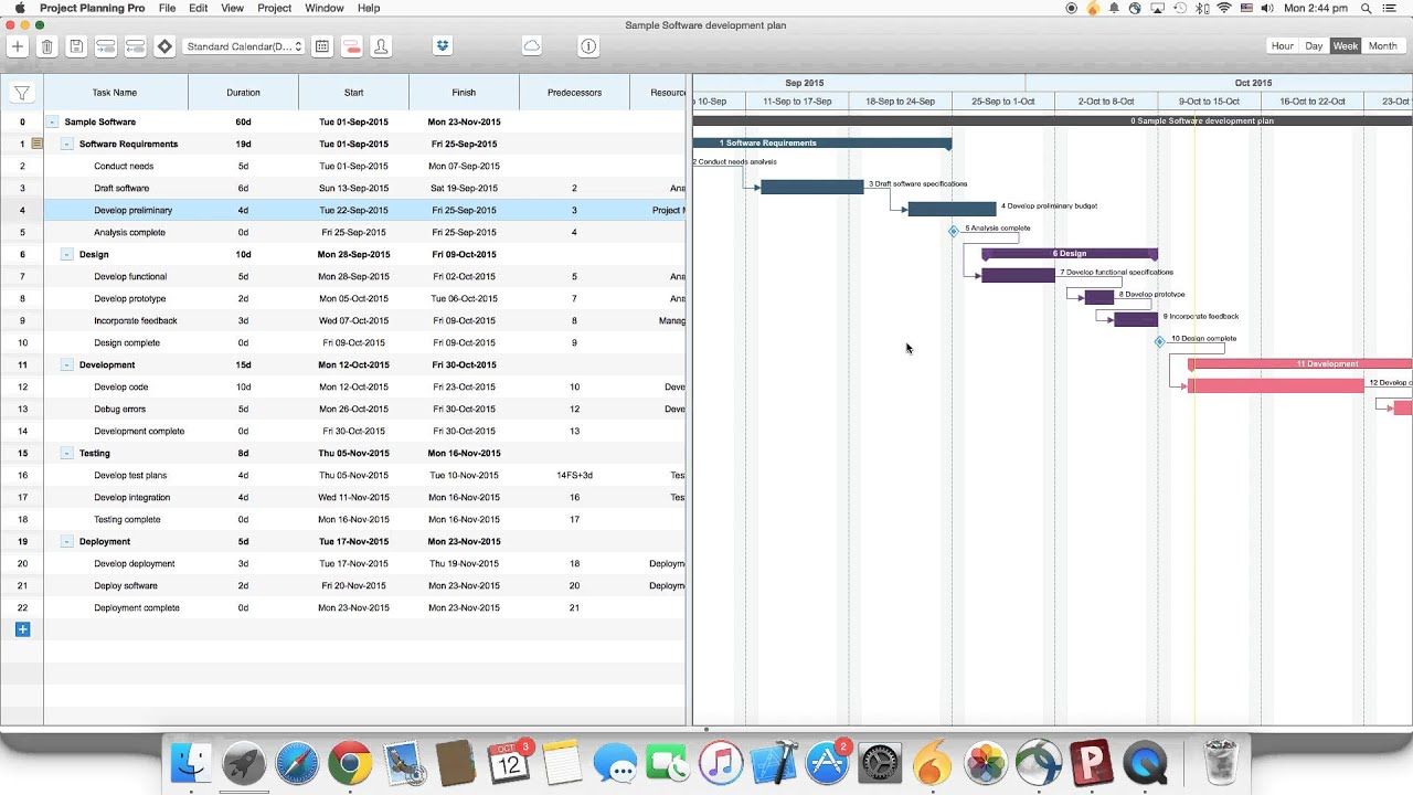 Project planning pro for mac os x how to edit a task in the gantt project planning pro for mac os x how to edit a task in the gantt chart ccuart Image collections