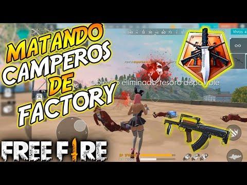CAYENDO EN EL TECHO DE FACTORY | CLASIFICATORIA Y ELIMINANDO A TODOS LOS CAMPEROS | FREE FIRE