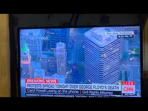 CNN Wrongly Reports Oakland Protest Of George Lloyd Murder As In San Jose, California
