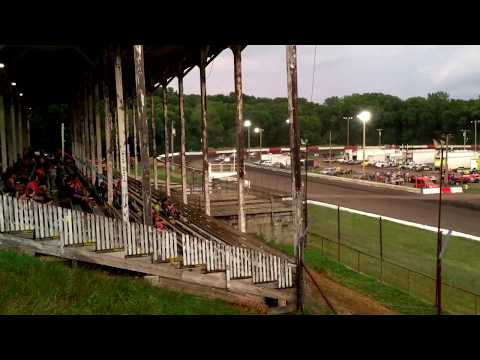 Hamilton County Speedway 7-22-17 Stock Car Feature