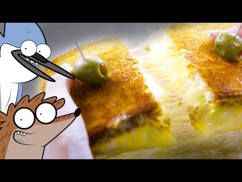 How to Make a Grilled Cheese Deluxe from Regular Show! thumbnail