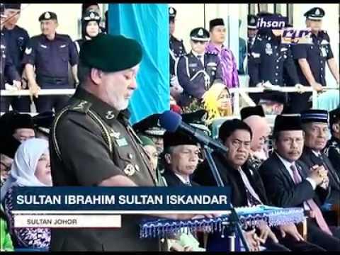 Sultan Johor Menyindir Mahathir