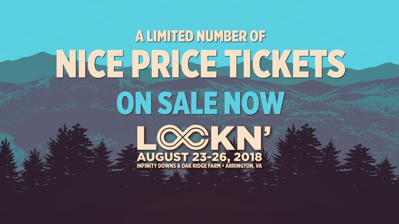 LOCKN' ADVANCE TICKETS ON SALE NOW