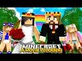 Minecraft Royal Family : DAD & EVIL STEPMOM RAMONA GET MARRIED! w/Little Kelly & Little Carly
