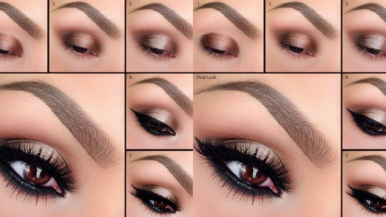 hermoso maquillaje de moda paso a paso - Como Maquillarse Paso A Paso