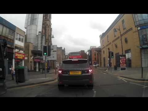 Cloudy April Morning Drive Around The City Of Dundee Tayside Scotland