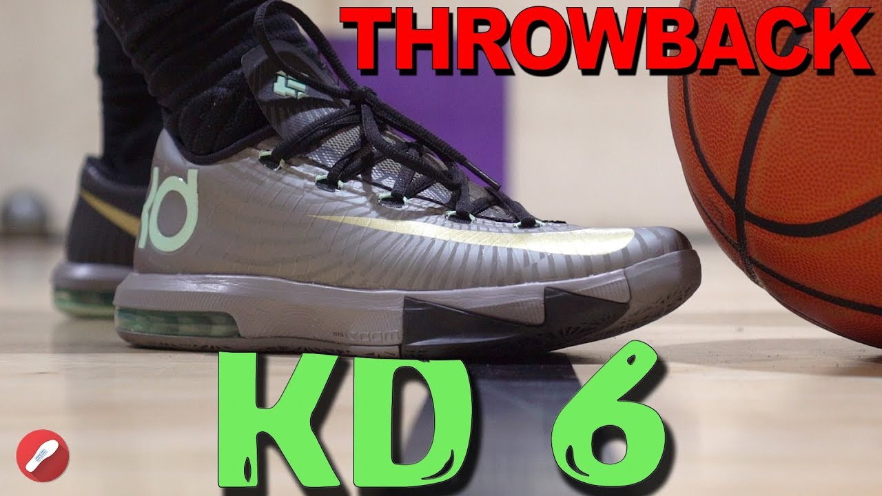 d28bede0c737 Throwback Review! Does It Still Basketball  Nike Kd 6! - YouTube