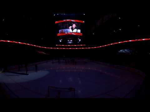 "360º NHL Highlights: ""Oh Canada"" before the Canadiens and Maple Leafs game  in VR!"