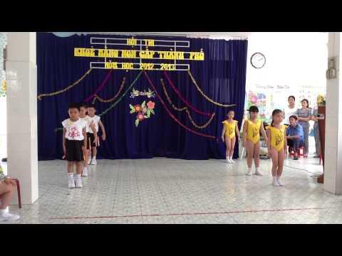 Truong mau giao Huong Duong An Giang thi Be Khoe Mang Non Cap Thanh Pho