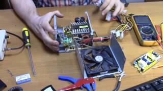 Простой ремонт БП компьютера!(Простой ремонт БП ATX компьютера! Самодельный паяльник на картриджах T12 - https://www.youtube.com/watch?v=daKGC4Yf0a8 Конденсатор..., 2016-10-09T11:33:45.000Z)