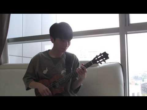 (Baritone Ukulele) While My Guitar Gently Weeps - Sungha Jung