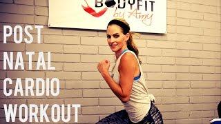 20 Minute Postnatal Cardio Workout For After Pregnancy