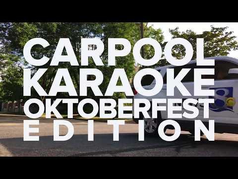 Carpool Karaoke Oktoberfest Edition