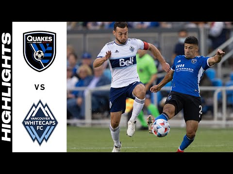 San Jose Earthquakes Vancouver Whitecaps Goals And Highlights