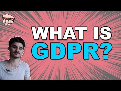 GDPR 2018 - Summary of new EU regulation