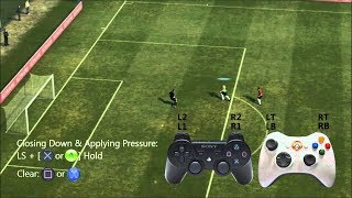 PES 13 Defence tactics without using X manual.