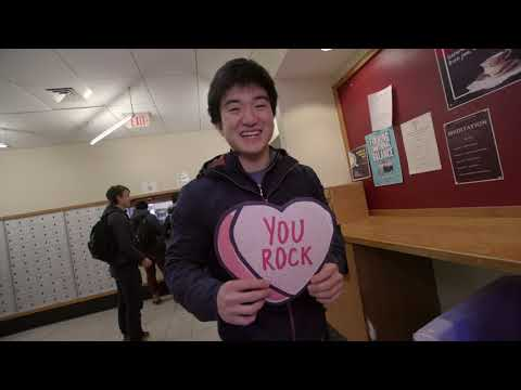 """Exeter says """"thanks!"""" on Valentine's Day"""