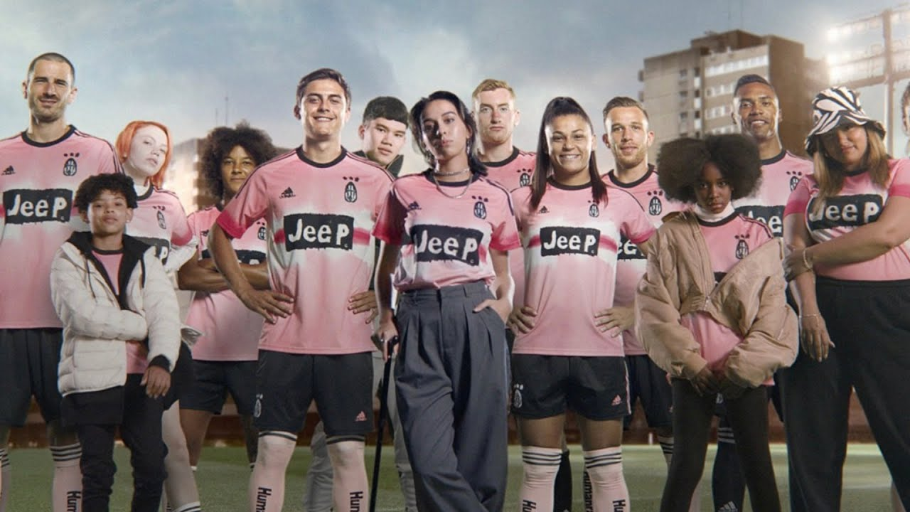 SPECIAL EDITION JUVENTUS 4TH KIT!   Adidas x Pharrell   Designed By Hand - For The Human Race ????
