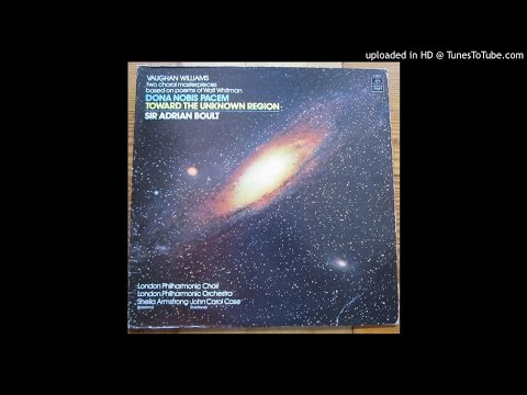 Vaughan Williams - Two Choral Masterpieces based on Poems of Walt Whitman - Vinyl Rip - Side B