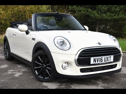 Used Mini Cooper Convertible >> Used Mini Convertible 1 5 Cooper 2dr White 2016