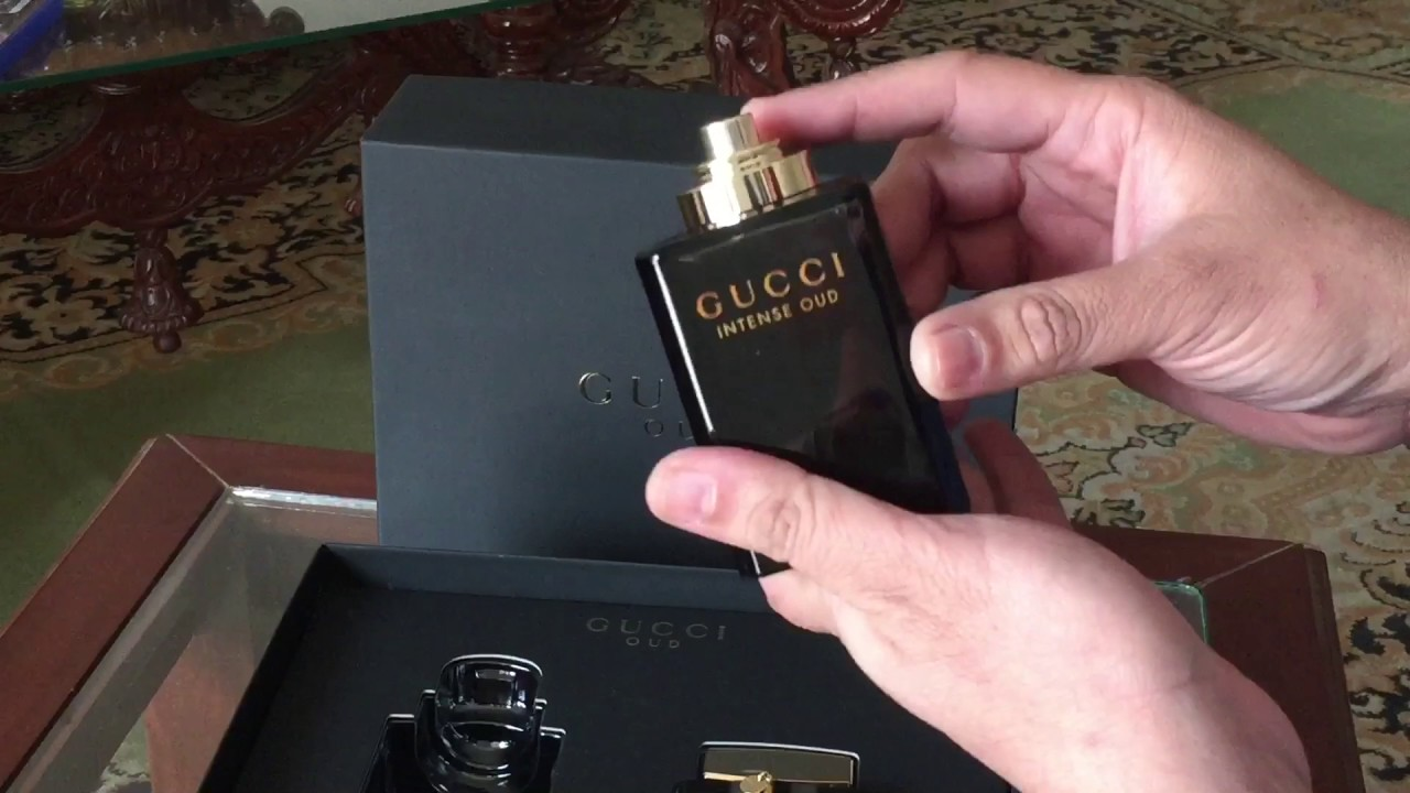 d0149a43d GUCCI OUD INTENSE & GUCCI OUD Unboxing and review - YouTube