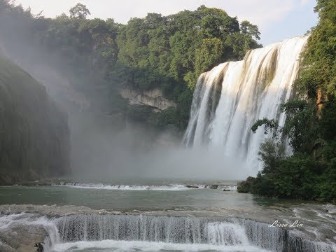 【2017 Jul.貴州之旅】Guizhou--Part 5 (氣勢磅礡的黃果樹瀑布)