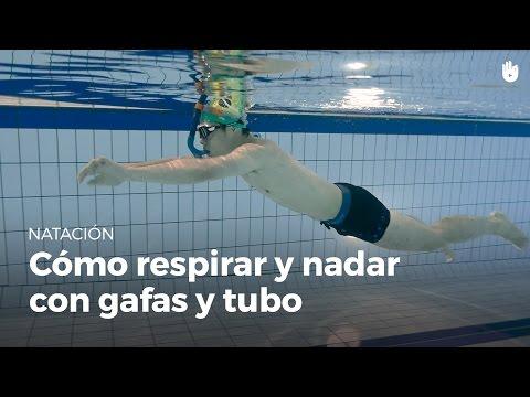82e4c424b Cómo respirar y nadar con gafas y tubo de buceo   Miedo al agua - YouTube