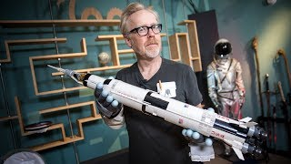 Adam Savage Builds the LEGO NASA Apollo Saturn V!