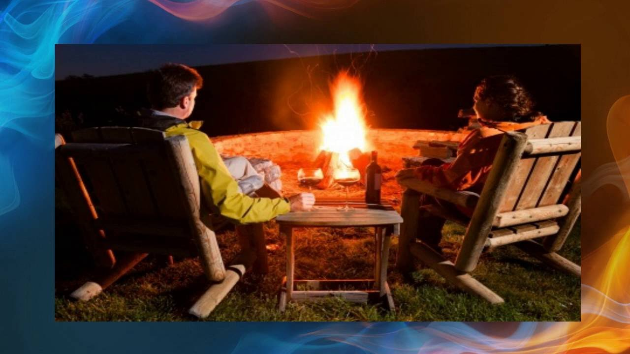 backyard fire pit youtube