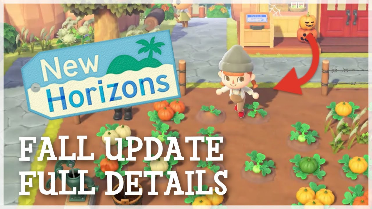 Animal Crossing New Horizons - Fall Update FULL DETAILS (Halloween, Farming & Hidden Details)