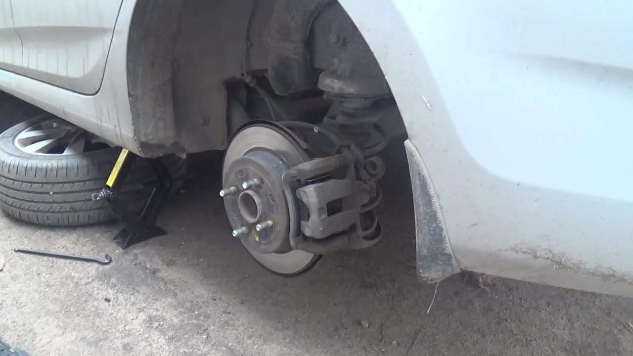 Тормоза придумал трус Hyundai Accent solaris